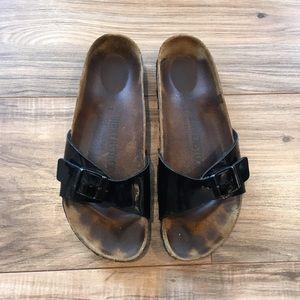 Birkenstock Madrid Black Patent Leather 37